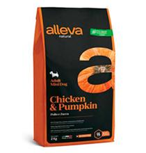 Alleva Natural Adult Mini Chicken Pumpkin / Сухой корм Аллева для собак Мелких пород Курица Тыква