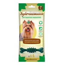 Зубочистики Лакомство для собак до 10 кг для Поддержки пищеварения с Хлорофиллом и мятой