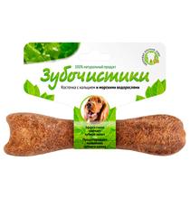 Зубочистики Лакомство для собак 10 - 25кг для Чистки зубов Косточка жевательная со вкусом Морских водорослей