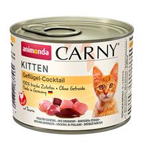 Animonda Carny Kitten Poultry Coctail / Консервы Анимонда для Котят коктейль из мяса Птицы (цена за упаковку)