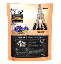 Bon Appetit Cat Adult Sensitive Salmon & Chicken & rice / Сухой Безглютеновый корм Бон Аппети для взрослых кошек Чувствительным пищеварением с Лососем Курицей и рисом