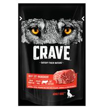 Crave Adult Dog Beef / Беззерновые Паучи Крэйв для взрослых собак Говядина (цена за упаковку)