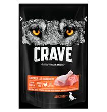 Crave Adult Dog Chicken / Беззерновые Паучи Крэйв для взрослых собак Курица (цена за упаковку)