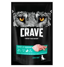 Crave Adult Dog Rabbit / Беззерновые Паучи Крэйв для взрослых собак Кролик (цена за упаковку)