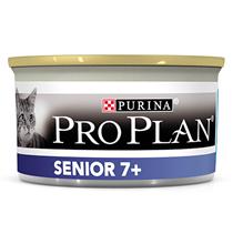 Purina Pro Plan Cat Senior  7+ Tuna Mousse / Консервы Пурина Про План для Пожилых кошек старше 7 лет Мусс с Тунцом (цена за упаковку)