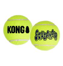 Kong Air Dog / Игрушка Конг для собак Теннисный мяч Большой 2шт