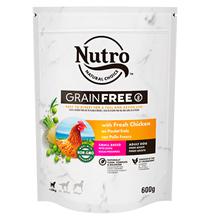Nutro Adult Dog Small Breed Fresh Chicken Grain free / Сухой Беззерновой корм Нютро для взрослых собак Мелких пород со свежей Курицей и экстрактом Розмарина