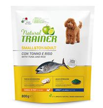 Trainer Natural Small & Toy Adult / Сухой корм Трейнер для взрослых собак Мелких и Миниатюрных пород Тунец и Рис