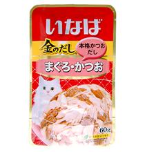 Inaba / Паучи Инаба для кошек Тунец Бонито (цена за упаковку)