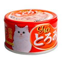 Inaba Ciao / Консервы Инаба для кошек Мраморный тунец Гребешок Курица (цена за упаковку)