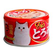 Inaba Ciao / Консервы Инаба для кошек Карпаччо из мраморной вырезки Бонито Тунца и филе Курицы (цена за упаковку)