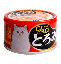 Inaba Ciao / Консервы Инаба для кошек Камчатский краб, Тунец, филе Курицы (цена за упаковку)