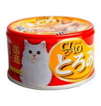 Inaba Ciao / Консервы Инаба для кошек Кальмар филе Курицы Мраморный Тунец (цена за упаковку)