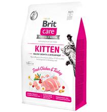Brit Care Kitten Healthy Growth & Development Grain free / Сухой Беззерновой корм Брит для Котят Беременных и Кормящих кошек Курица Индейка