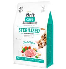 Brit Care Sterilized Urinary Health Grain free / Сухой Беззерновой корм Брит для Стерилизованных кошек Профилактика МКБ Курица