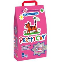 PrettyCat Euro Mix / Наполнитель для кошачьего туалета ПриттиКэт Евро Микс Бентонитовый Комкующийся с ароматом Алоэ
