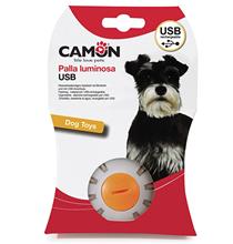 Camon / Игрушка Камон для собак Мяч светящийся