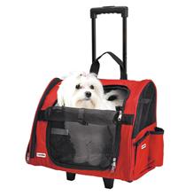 Camon Trasportino Trolley / Сумка-переноска Камон для животных Красная