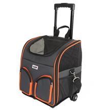 Camon Trasportino Trolley / Сумка-переноска Камон для животных на Колесах с 2 передними карманами