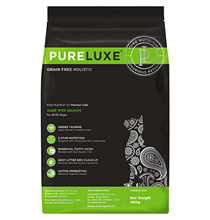 PureLuxe Cat Persian Salmon Grain free / Сухой Беззерновой корм ПьюаЛюкс для Персидских кошек Лосось