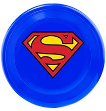 Buckle-Down / Игрушка Бакл-Даун для собак Фрисби Супермен синий