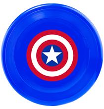 Buckle-Down / Игрушка Бакл-Даун для собак Фрисби Капитан Америка мультицвет
