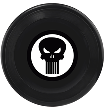 Buckle-Down / Игрушка Бакл-Даун для собак Фрисби Каратель чёрный
