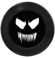 Buckle-Down / Игрушка Бакл-Даун для собак Фрисби Веном чёрный
