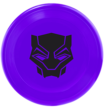 Buckle-Down / Игрушка Бакл-Даун для собак Фрисби Чёрная Пантера черный