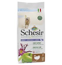 Schesir Natural Selection Dog Adult Medium Large Grain free Turkey / Сухой Беззерновой корм Шезир для собак Средних и Крупных пород Индейка