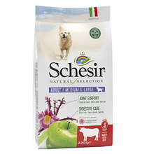 Schesir Natural Selection Dog Adult Medium Large Grain free Beef / Сухой Беззерновой корм Шезир для собак Средних и Крупных пород Говядина