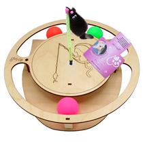 Glory Life / Игровой комплекс Глори Лайф для кошек Круг с шариками c игрушкой на Пружине