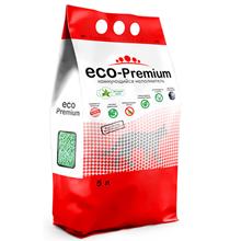Eco Premium Алоэ / Наполнитель Эко Премиум для кошачьего туалета Древесный Комкующийся с ароматом Алое