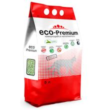 Eco Premium Зеленый чай / Наполнитель Эко Премиум для кошачьего туалета Древесный Комкующийся с ароматом Зеленого чая