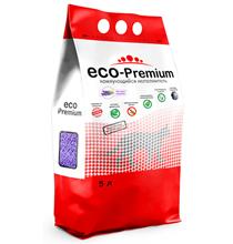 Eco Premium Лаванда / Наполнитель Эко Премиум для кошачьего туалета Древесный Комкующийся с ароматом Лаванды