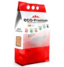 Eco Premium Персик / Наполнитель Эко Премиум для кошачьего туалета Древесный Комкующийся с ароматом Персика