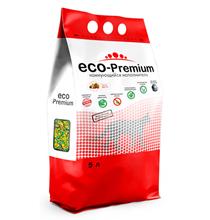 Eco Premium Тутти-фрутти / Наполнитель Эко Премиум для кошачьего туалета Древесный Комкующийся с ароматом Фруктов и ягод