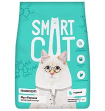 Smart Cat / Сухой корм Смарт Кэт для Стерилизованных кошек с Курицей