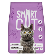 Smart Cat / Сухой корм Смарт Кэт для взрослых кошек с Кроликом