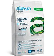Alleva Holistic Adult Medium Maxi Ocean Fish & Hemp Aloe vera / Сухой корм Аллева для собак Средних и Крупных пород Океаническая рыба Алоэ вера Конопля