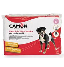 Camon Pannolini / Подгузники Камон для Кобелей на резинке 12шт