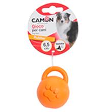 Camon / Игрушка Камон для собак Мяч с ручкой в форме Гири Цвета в ассортименте