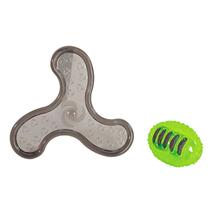 Camon / Игрушка Камон для собак Мяч для регби и Бумеранг комплект