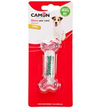 Camon / Игрушка Камон для собак Кость со вкусом Мяты или Молока или Бекона Вкус в ассортименте