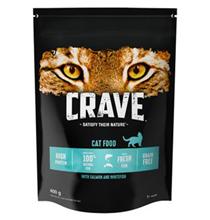 Crave Adult Cat Salmon & Whitefish / Сухой Беззерновой корм Крэйв для взрослых кошек Лосось и Белая рыба