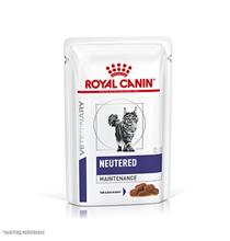 Royal Canin Neutered Maintenance / Ветеринарный влажный корм (Консервы-Паучи) Роял Канин Ньютеред Мэйнтенэнс для Взрослых Кастрированных котов и Стерилизованных кошек (цена за упаковку)