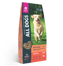 All Dogs / Сухой корм Ол Догс для собак с Говядиной и овощами