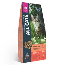 All Cats / Сухой корм Ол Кэтс для кошек с Говядиной и овощами