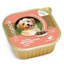 Dog Lunch / Консервы ДогЛанч для взрослых собак Мясные фрикадельки в нежном соусе Баранина (цена за упаковку)