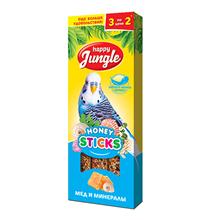 Happy Jungle Honey Sticks / Лакомство Хеппи Джангл для птиц Палочки при линьке